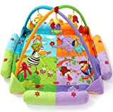 Guurachi Baby Early Development Playmats Play Mat Musical Toy Infant Blanket Mat Fitness Activities
