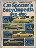 Car Spotters Encyclopedia 1940, Outlet Book Company Staff and Random House Value Publishing Staff, 0517352044