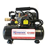 Interstate Pneumatics C1000 3/4 HP 1 Gallon Electric Air Compressor, 125 PSI