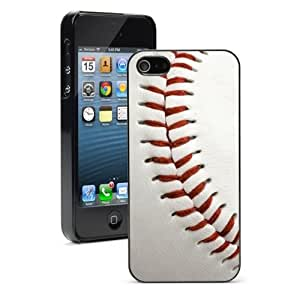 For Apple iPhone 4 4S Hard Case Cover Close Up Baseball -01