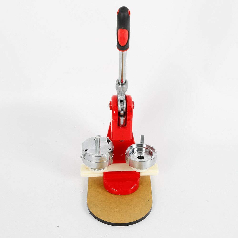 58 mm, con cortador circular y 100 bobinas M/áquina para hacer chapas OUKANING