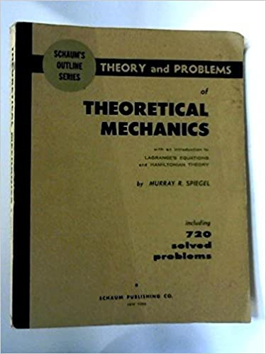 Amazon schaums outline of theory and problems of theoretical schaums outline of theory and problems of theoretical mechanics 1st edition fandeluxe Choice Image