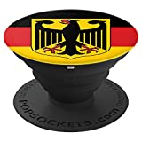 German Flag and Eagle Coat of Arms Desig