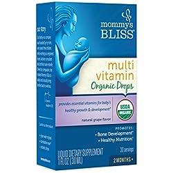 Mommy's Bliss Multivitamin Organic Drops