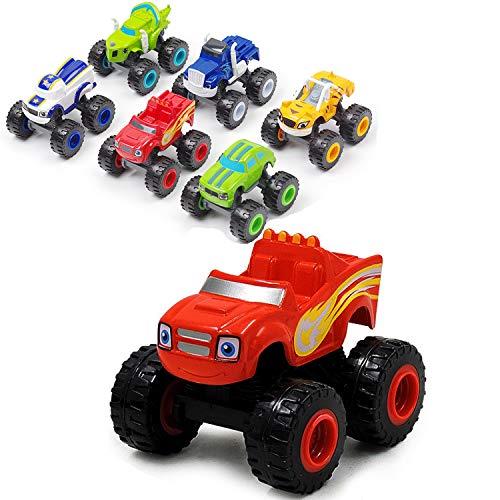 VI AI 블레이즈 및 괴물 기계 장난감 어린이를위한 괴물 트럭 다이 캐스트 장난감 장난감 기계 선물
