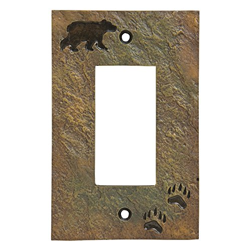 Bear Stone Finish Rustic Single