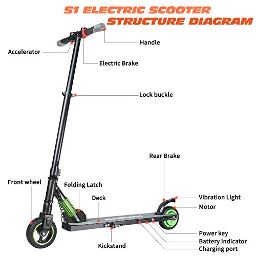 Megawheels Electronic Scooter Ultra Lightweight Foldable Electric