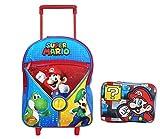 New Super Mario & Luigi Toddler Rolling Backpack