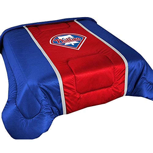 Baseball Badger Jerseys Solid (Bundle-98 MLB Sidelines Comforter Team: Philadelphia Phillies, Size: Twin)