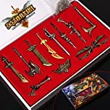 League of Legends LOL Weapons Model, 11 New Weapons Suit Hero, Charming Weapons Decoration