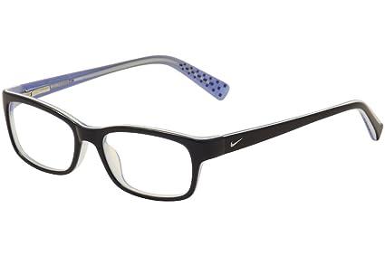 6fcb89feb750 Amazon.com  Nike Eyeglasses 5513 220 Blue Demo 49 16  Sports   Outdoors