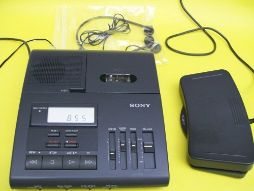 Sony Bm850 Bm-850 Microcassette Transcription Transcriber Machine by Sony