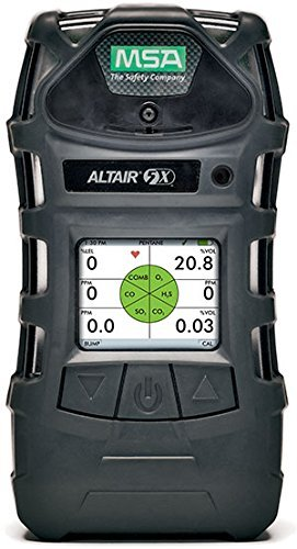 MSA Altair 5X Multigas Detector Economy Kit (Color Display) With American Hard Hat and American Sticker ()