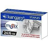 HighFiTech Kangaro 24/6 Staples Pack -5 Packs