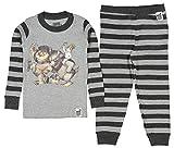 Where The Wild Things Are Toddler Boys' Wild Things Bookjama Pajama Set, Gray, 3T
