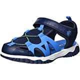 Carter's Baby Zyntec Boy's and Girl's Athletic Sport Sandal, Navy, 6 M US Toddler