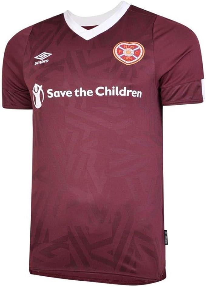 Umbro 2019-2020 Hearts Home Football Camiseta de fútbol