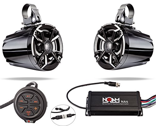 (NOAM NUTV5 - Marine Bluetooth ATV/Golf Cart/UTV Speakers Stereo)
