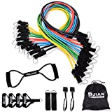 PIN JIAN Rubber Resistance Band Set, 20 Pieces For Sale