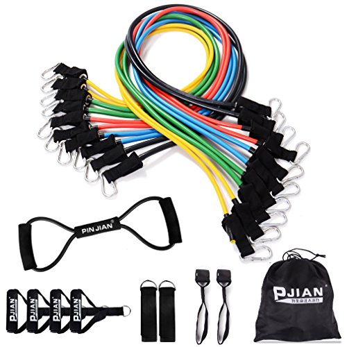 PIN JIAN Rubber Resistance Band Set, 20 Pieces price