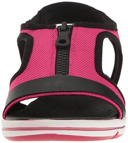 Rosado Aerosoles Fabric Mujer Pink Planas Sandalias para OOqHnpIR