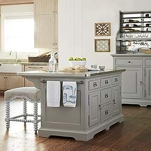 Amazon.com: Paula Deen Home Dogwood The Kitchen Island in