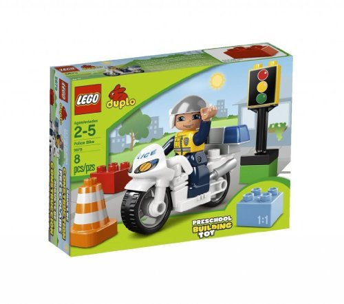 Toy / Game Lego Legoville Police Bike 5679 With Accessories - Making Sure The Traffic Moves Along & Safe