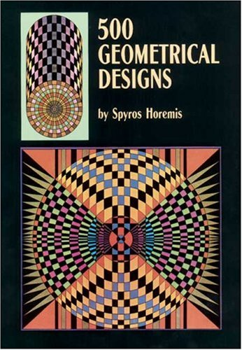 Optical and Geometrical Patterns and Designs: 500 Original Designs (Dover Pictorial - Optical Design Shop Modern