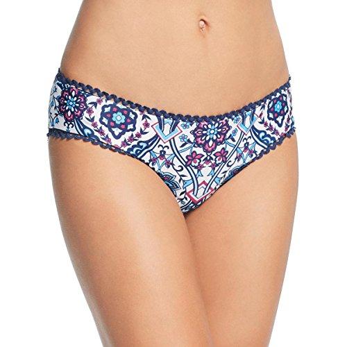 (Becca by Rebecca Virtue Women's Reversible Hipster Bikini Bottom Multi L)