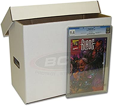 2 Ct Max Pro  Long Comic Storage Box NEW Each Holds 200 to 225 Comics