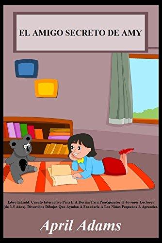 """Libro Infantil: """"EL AMIGO SECRETO DE AMY"""" Cuento Interactivo Para Ir A Dormir"""