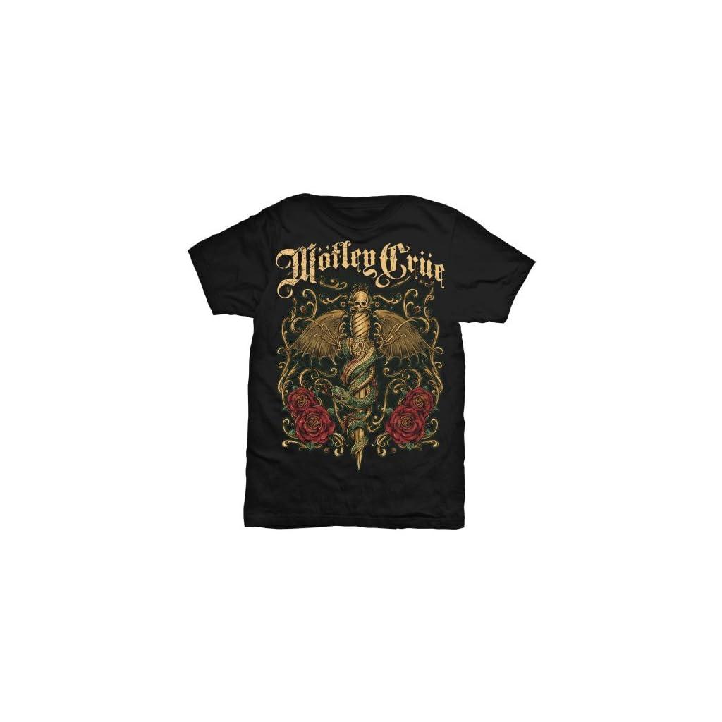 Motley Crue Exquisite Dagger – Camiseta