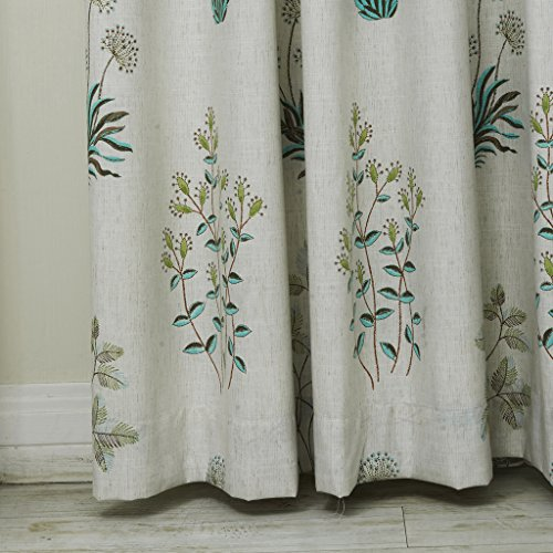 Iyuego Country Botanical Grass Print Cotton Linen Eco