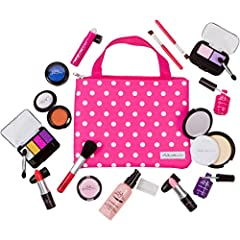 Finally, The Cutest & Most Realistic Pretend Makeup Kit Has Just Been Released! Tired of all those same old boring toys and games? Looking for a pretend makeup kit to play with your little princess? Fed up with cheaply made makeup toys th...
