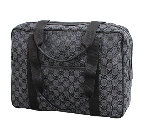 as Laptop Tote Bag Shoulder Handbag 282529 (Charcoal) (Gucci Canvas Shoulder Bag)