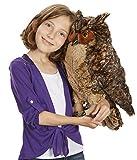 Melissa & Doug Lifelike Plush Owl (Stuffed Animal & Plush Toy, Crafted With Care, Soft Fabric, 17' H x 14' W x 17' L)