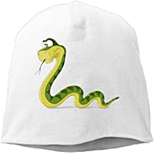 Rander Green Snake Winter Warm Wool Lining Hat