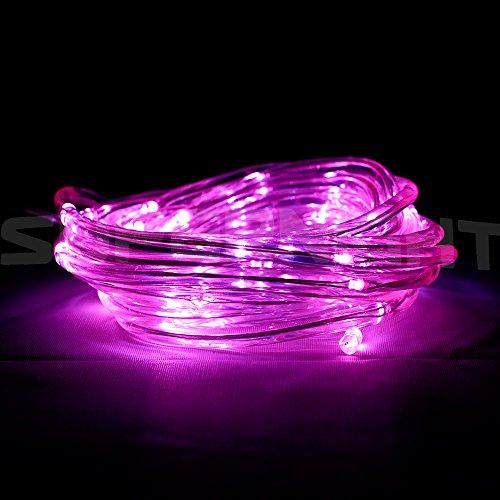 Binzet 5m164ft 50leds purple battery operated flexible led fairy binzet 5m164ft 50leds purple battery operated flexible led fairy light led rope light led starry light led strands lights led string lights led twinkle aloadofball Gallery