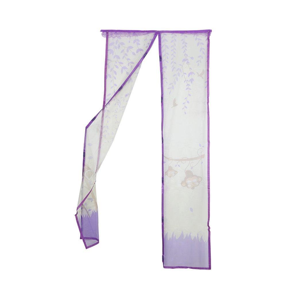Joycexexs Mantenga a los insectos fuera y aire fresco en la cortina magn/ética de la malla de la mosquitera de insecto contra mosquitero mosquitera mosquitera anti mosquitera