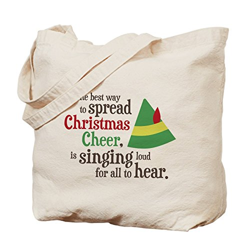 CafePress Unique Design Spread Christmas Cheer Tote Bag - Standard by CafePress