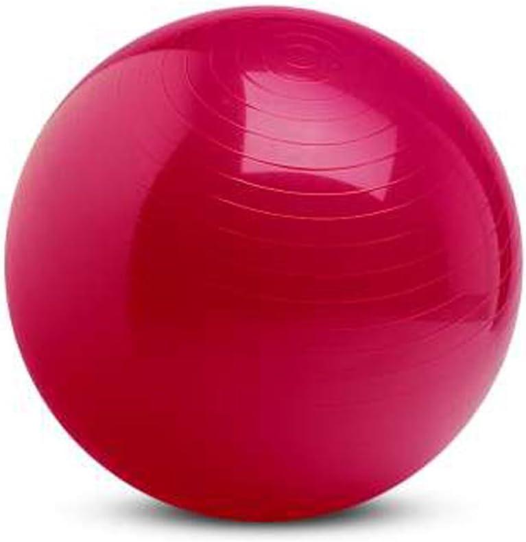 Gym Ball - Pelota de pilates (120 cm), color rosa: Amazon.es ...