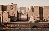 img - for The Temple of Ramesses II: Volume 2, Pillars, Miscellany, and Inscriptions (Hagiographie /Ikonographie /Volkskunde) book / textbook / text book