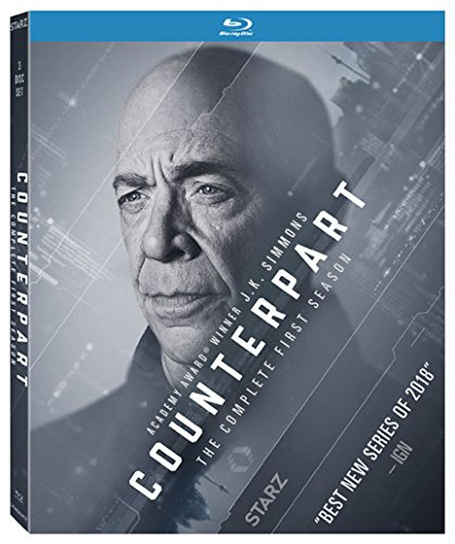 Blu-ray : Counterpart: The Complete First Season (Ultraviolet Digital Copy, Dolby, Widescreen, AC-3, 3 Pack)