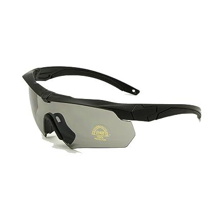 c87460086443b Amazon.com  EnzoDate Ballistic Military Goggles 3LS
