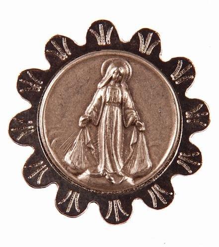 Placa magnética con la Imagen de la Sagrada Maria.Religioso Imanes ...
