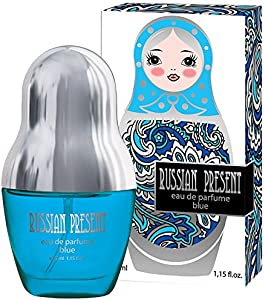 Sweepstakes: Russian Present BLUE Eau De Parfum Spray...