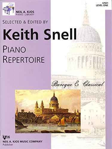 GP601 - Piano Repertoire - Baroque & Classical - Level - Book Baroque Music