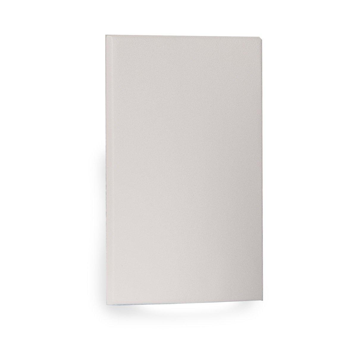 WAC Lighting WL-LED210-AM-WT WAC Landscape LED Vertical Scoop Step and Wall Light 120V Amber, White