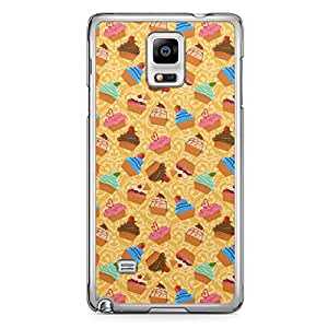 Mix Samsung Galaxy Note 4 Transparent Edge Case - Bakery Collection