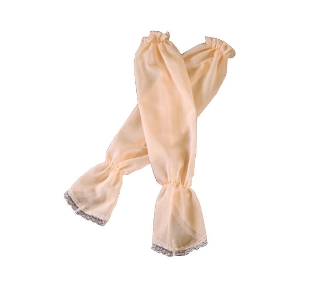 Female Summer Arm Sets Anti-ultraviolet Lace Ice Silk Sunscreen, Orange Dragon Sonic